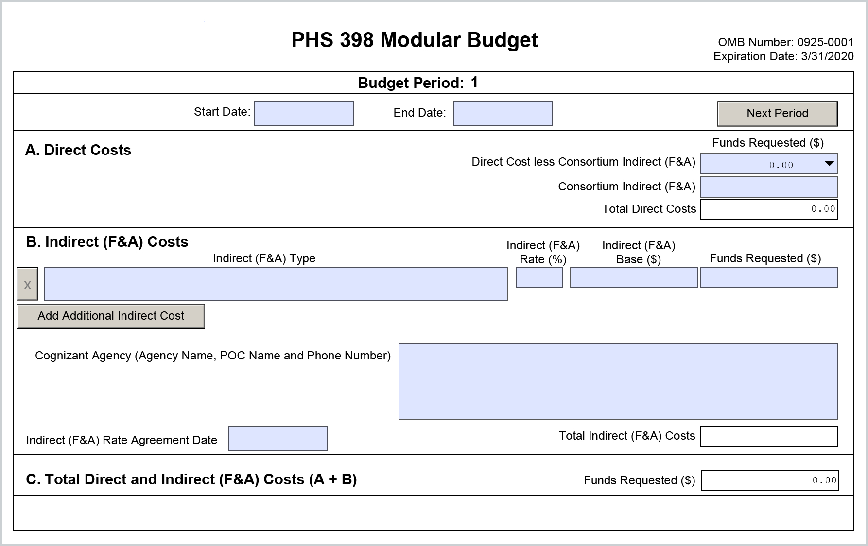 S2s phs398modularbudget form instructions kuali research please note modular budget maxwellsz